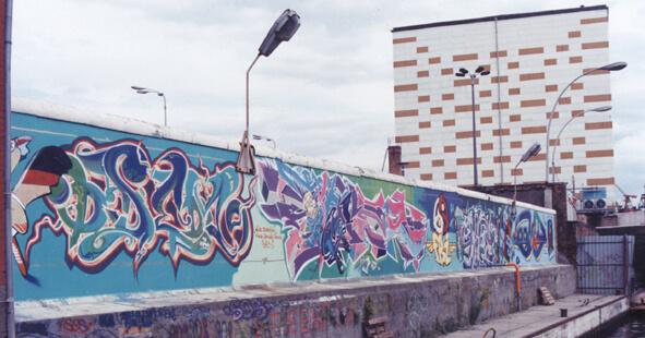 Berliner Mauer (ODEM DARCO BOMBER LOOMIT) 1993 © ADAGP, DARCO, Paris