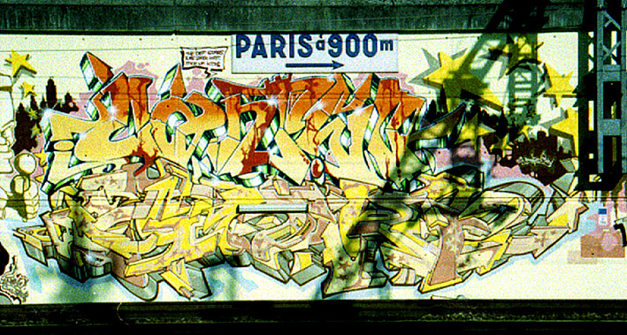 Paris (Cantwo Darco) 1994©ADAGP, Darco, Paris - All rights reserved