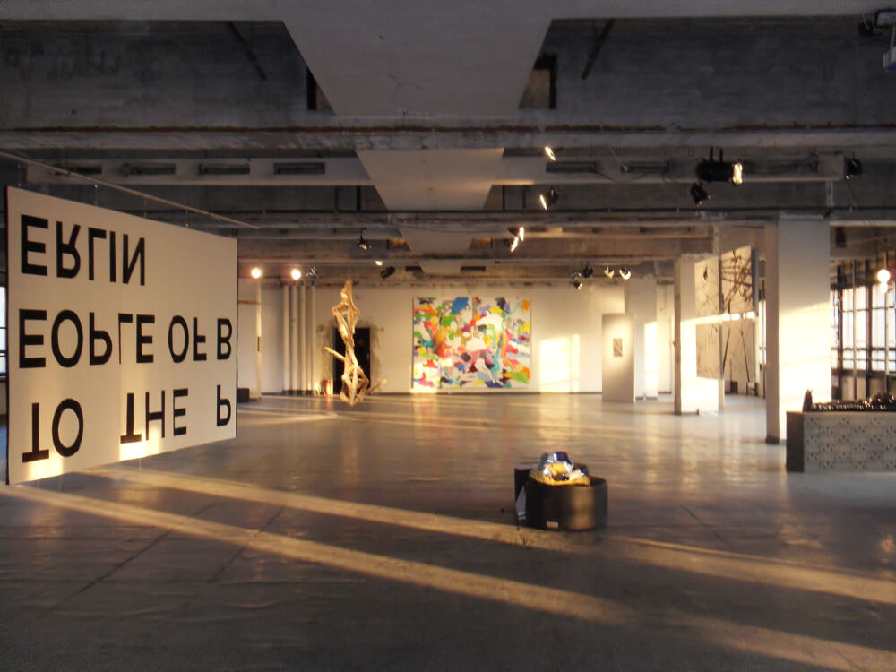 Installation left by YGVUPT UMSONST aka Jean-Baptiste Bouvier©K.Hermann