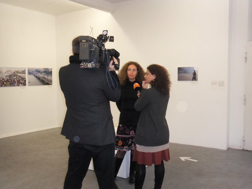 Producer Kismet El Sayed interviewed by ZDF©K.Hermann