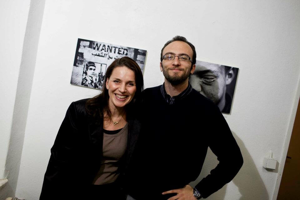 Katia Hermann and Ahmed Hayman, photographer©K.Hermann