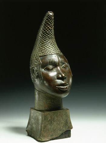 Gedenkkopf einer Kniginmutter, Benin©spkb