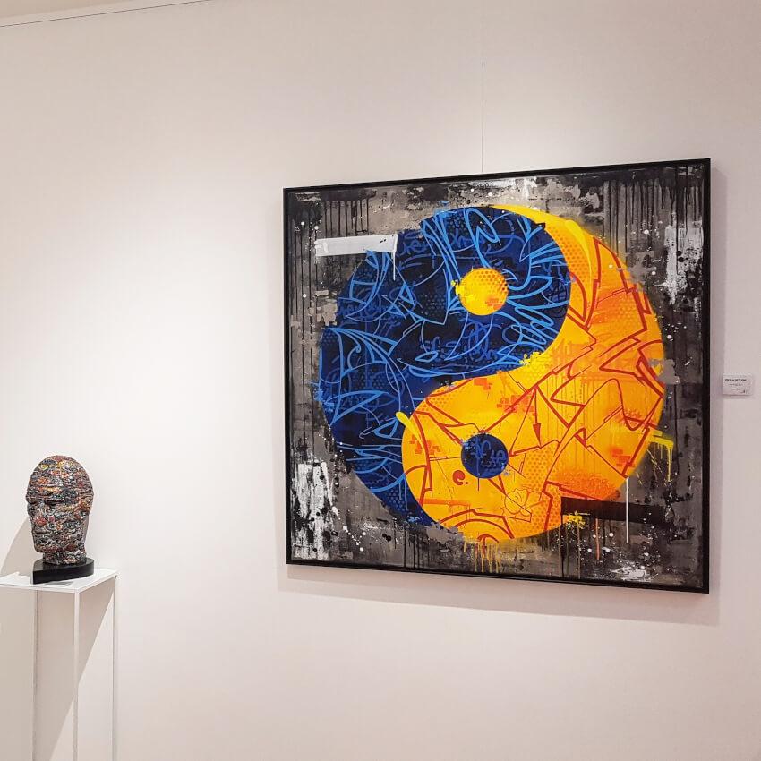 Yin Yang -Akte -Cren -Galerie Charlier Benoit
