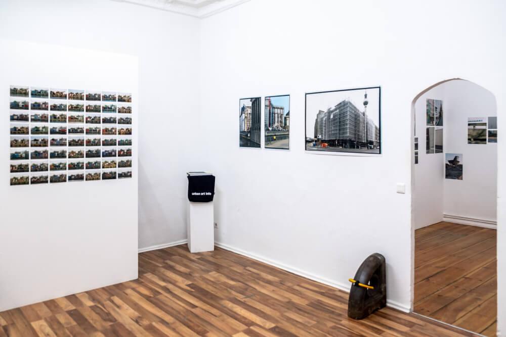 "JExhibition view Jürgen Grosse, ""Work in Process"" at Retramp©Van Kersavond"