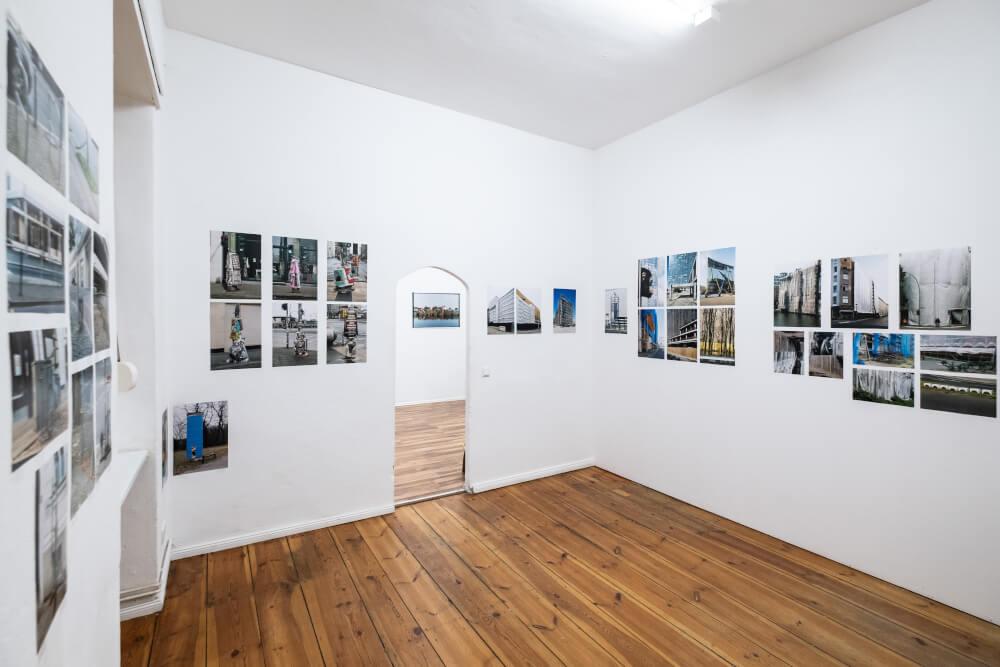 """Exhibition view Jürgen Grosse, """"Work in Process"""" at Retramp©Van Kersavond"""