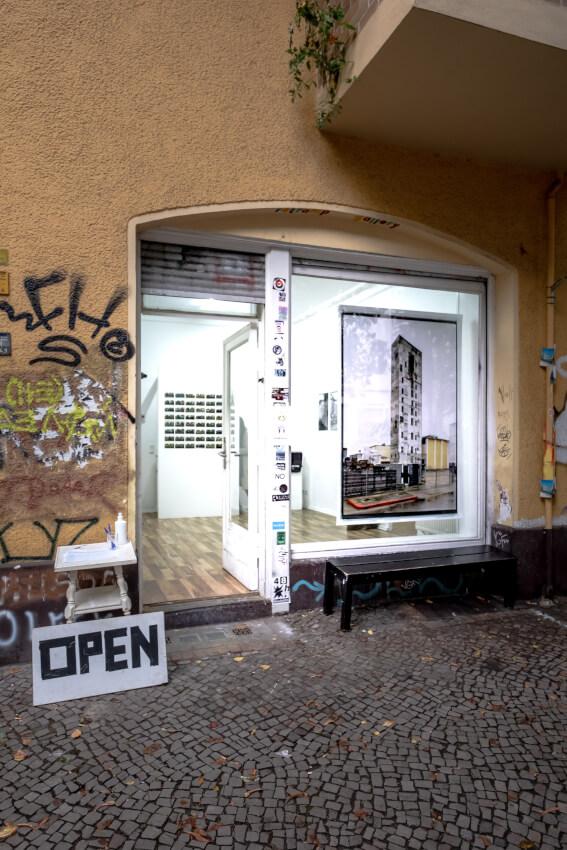 """Exhibition view Jürgen Grosse, """"Work in Process"""" at Retramp"""